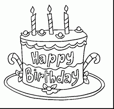 coloring pages happy birthday great happy birthday cake coloring page with happy birthday