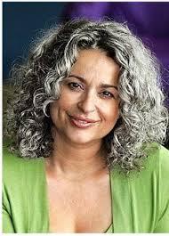naturally curly gray hair love the salt n pepper hair hairstyles pinterest pepper gray