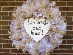wedding wreaths wedding wreath heart shaped wreath white wreath shower wreath