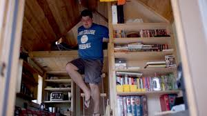 What Is An In Law House Tall Law Student Tiny House Bachelor Builds Dorm On Wheels Youtube