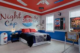 the sweet escape pepsi diner bedroom