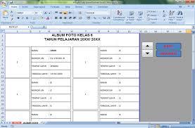 format absensi ujian format album foto siswa peserta un administrasi ujian nasional
