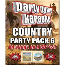 country music karaoke free party tyme karaoke cdg syb4483 country party pack 6