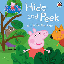 peppa pig halloween peppa pig hide and peek a lift the flap book by peppa pig
