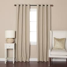 Thermalogic Ultimate Blackout Thermal Liner by White Grommet Blackout Curtains Home Decorating Ideas