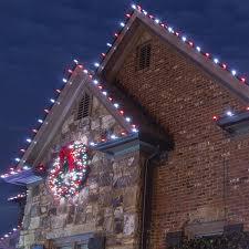 hanging christmas lights on brick christmas lights decoration