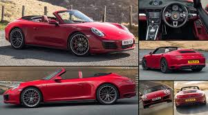 4 door porsche red porsche 911 carrera 4 cabriolet 2016 pictures information u0026 specs