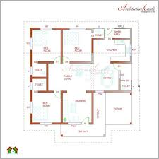 single floor home plans architecture kerala three bedrooms in 1200 square feet kerala
