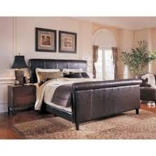 Black Leather Sleigh Bed Canterbury Leather Bed Frame Leather Beds Bed Time Online