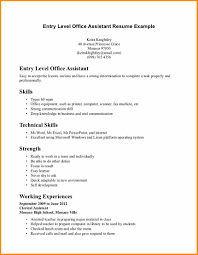 entry level hr resume samples resume templates entry level