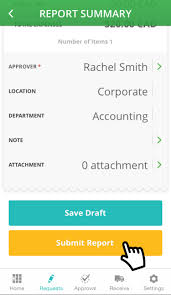 Mobile Expense Reporting by Procurify U2014 Create An Expense Report On Ios