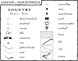 what is a map legend geography lessons tes teach