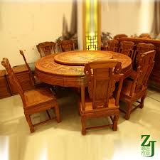 Solid Oak Furniture Solid Wood Furniture Myanmar Rosewood Garden Table Dining Table