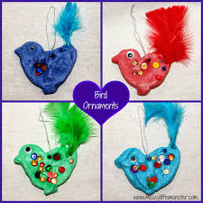 handmade christmas tree decorations messy little monster