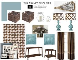Brown And Teal Home Decor The Yellow Cape Cod Custom Designs