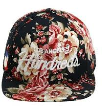 floral snapback the hundreds team floral snapback hat navy floral polyvore