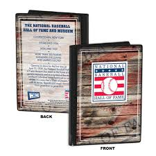 photo album 4x6 national baseball of fame black wood edge 4x6 inch picture frame