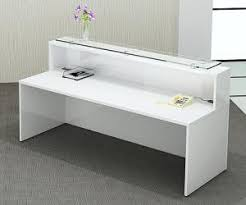 Reception Desk Uk Glow High Gloss White Reception Desk Office Reception Desks