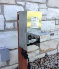 landscape lighting transformer guide to disable landscape