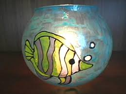 bowl designs how to paint a glass fish bowl hgtv