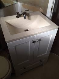 Glacier Bay Vanity Top Tobi Fairley Pretty Vanity Area With Single Sink Console David