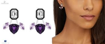 pierced earring 5160887 swarovski jewelry impulse pierced earring