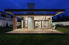 House Plan M Modern Two Bedrooms House Concrete Rectangular