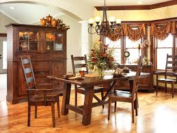cozy country dining room furniture selections completing warm