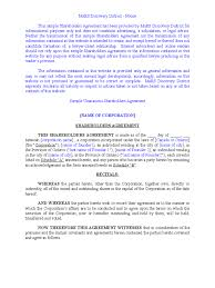 free non disclosure agreement template uk agreement templates 318 free templates in pdf word excel download sample unanimous shareholder agreement free download