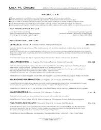 Freelance Photographer Resume Sample by Producer Resume 22 Executive Producer Resume Samples Uxhandy Com