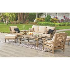 Martha Stewart Living Patio Furniture Cushions Martha Stewart Living Blue Hill Wood Outdoor Seating With