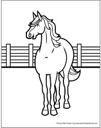 horse colouring u2013 artofmelodious