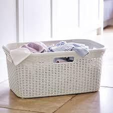 decorative laundry basket plastic u2014 sierra laundry organizing