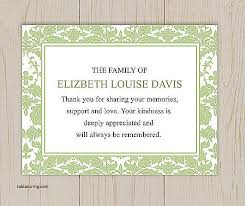 prayer cards for funerals thank you cards thank you card after funeral best of prayer cards