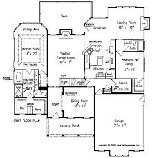 House Plans With Keeping Rooms Devon Park House Floor Plan Frank Betz Associates