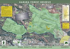 The Forest Map New Karura Forest Map Friends Of Karura Forest