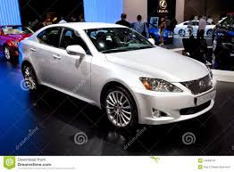 white lexus white car lexus is 250 f sport editorial stock image image 19809149