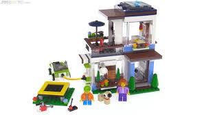 modern home lego creator 3 in 1 modular modern home review 31068 youtube