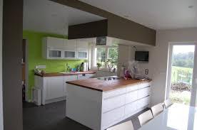 caisson hotte cuisine renovation cuisine casser murs porteurs aménagement cuisine