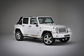 jeep rubicon white 4 door the jeep wrangler unlimited gets nautical
