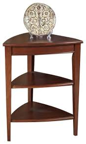 leick corner accent table stylish corner side table with leick furniture favorite finds glazed