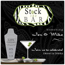 stock the bar shower chic stock the bar shower invitations paperstyle