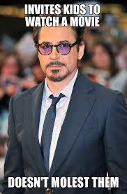 Robert Downey Jr Meme - michael jackson really set a low bar good guy robert downey jr