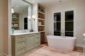 cottage bathroom alcove shelves cottage bathroom