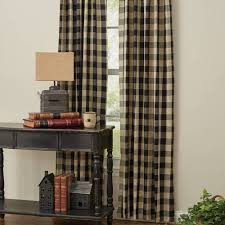 country style curtains wicklow black lined drapes 84