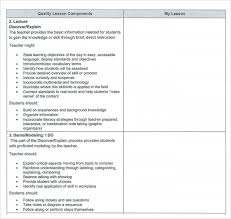 sample teacher lesson plan template 9 free documents in pdf
