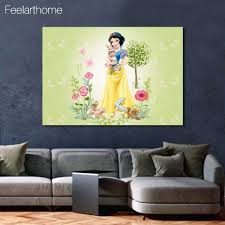disney princess picture promotion shop for promotional disney 1 piece canvas art poster princess snow white canvas painting wall art canvas prints home decor pictures for living room xa1437c