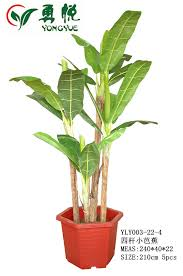 large outdoor artificial trees plants 210cm height four stems