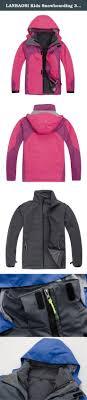 lanbaosi kids snowboarding 3in1 jacket for boys girls waterproof