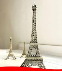 Eiffel Tower Garden Decor New Household Metal Crafts Bronze Paris Eiffel Tower Figurine